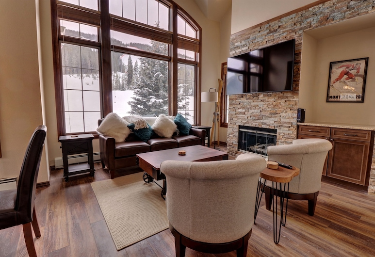 Er6 Elk Run 4br 4.5ba 4 Bedroom Condo, Copper Mountain, Condominio, 4 habitaciones, Sala de estar