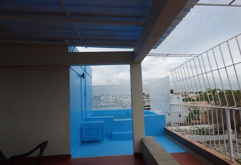 Hotel Enrique II, سانتو دومينجو, تِراس/ فناء مرصوف