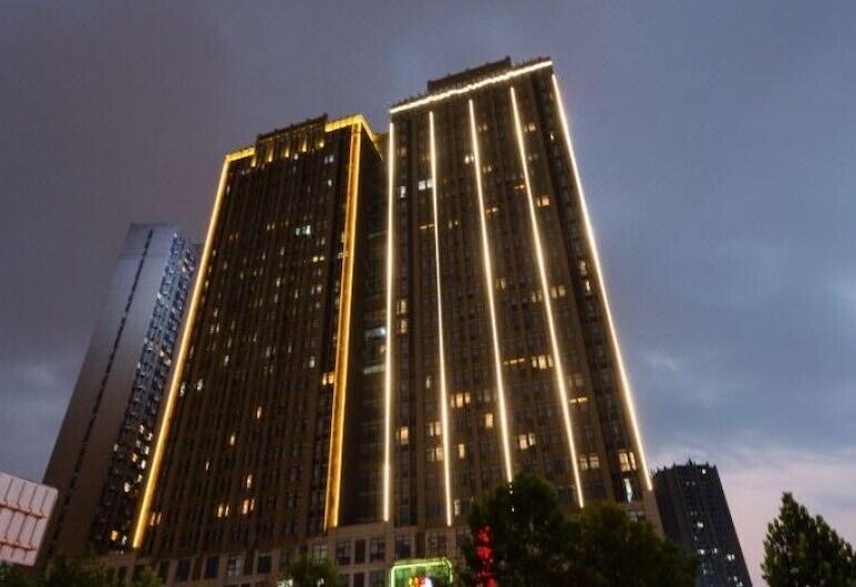 Yolanda Hotel, Zhengzhou, Blick vom Hotel