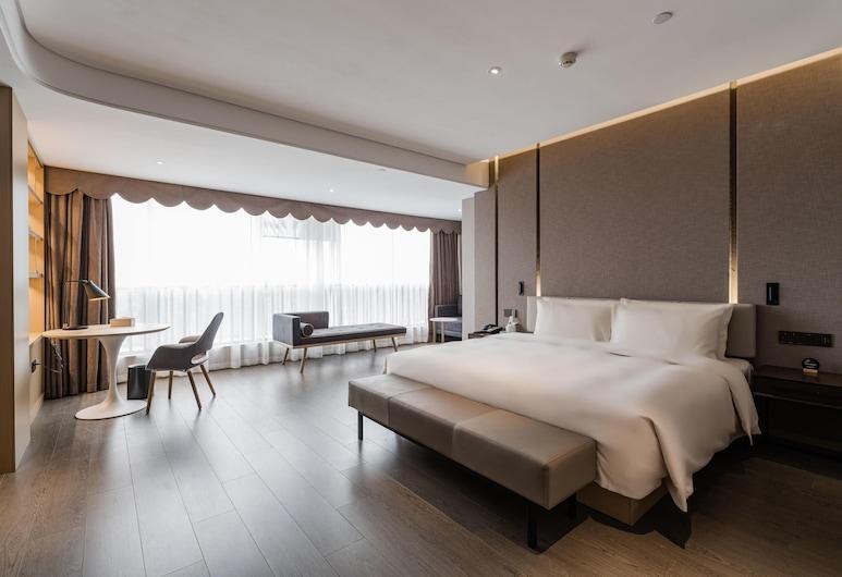 Atour Hotel Fuzhou Wusi Road Hot Spring Park, Fuzhou, Vista desde el hotel