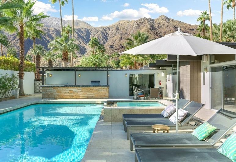 Rose, Palm Springs, Hus, Pool