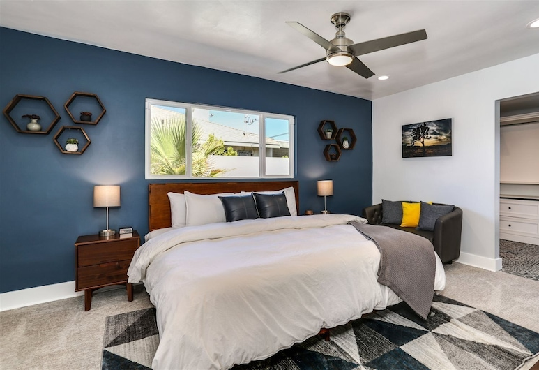 San Antonio, Palm Springs, Dom, Pokój