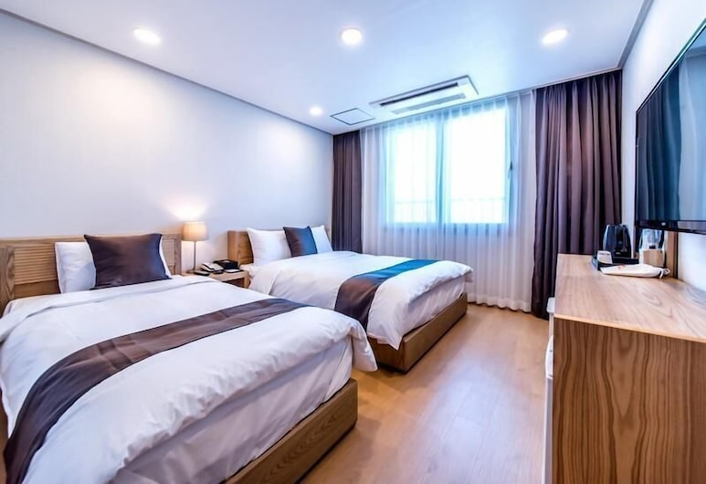 Hallim Zamong Hotel Jeju, Jeju City, Výhled z hotelu