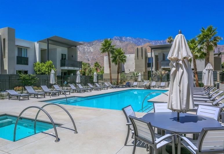 The Riv 156, Palm Springs, Ferienhaus, Pool