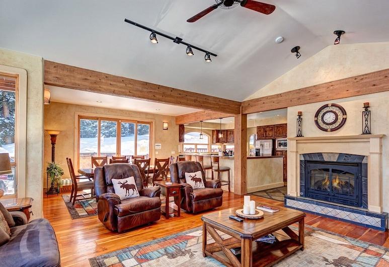 Alpine Vista, Breckenridge, Casa, Sala de estar