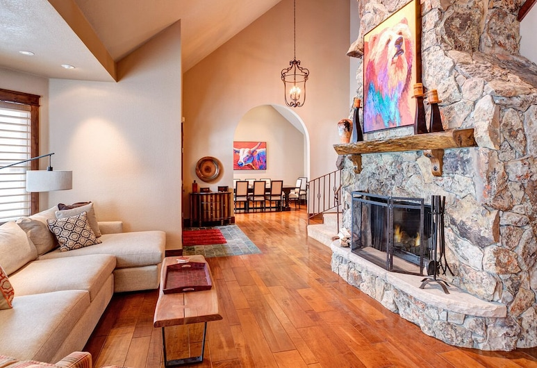 Awesome Home in Breckenridge With, Breckenridge, Huis, Woonkamer