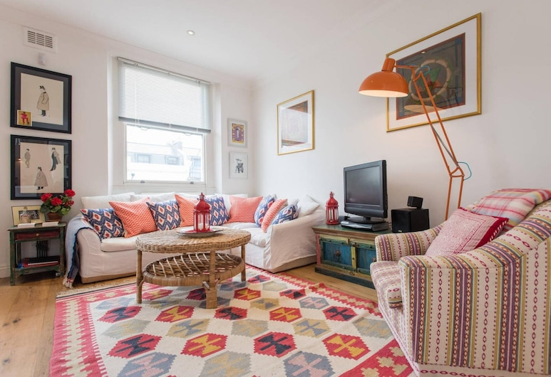 Homely 1-bed Flat in Notting Hill, West London, Лондон