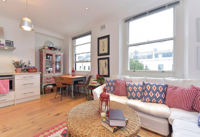 Homely 1-bed Flat in Notting Hill, West London, Λονδίνο, Διαμέρισμα, Δωμάτιο