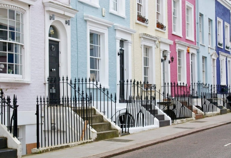 Homely 1-bed Flat in Notting Hill, West London, London, apartman, Szoba