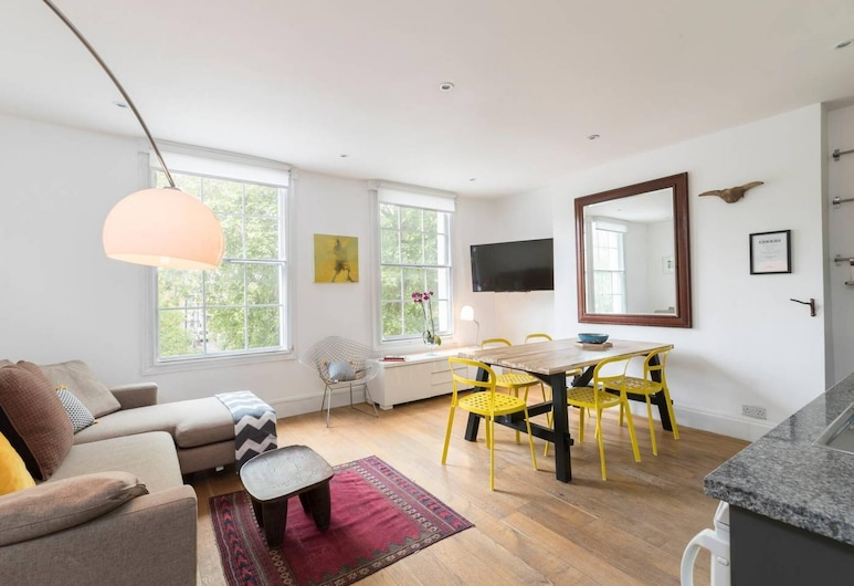 Smart 3 bed Flat in Islington, Close to Angel Tube, London, Lejlighed, Værelse