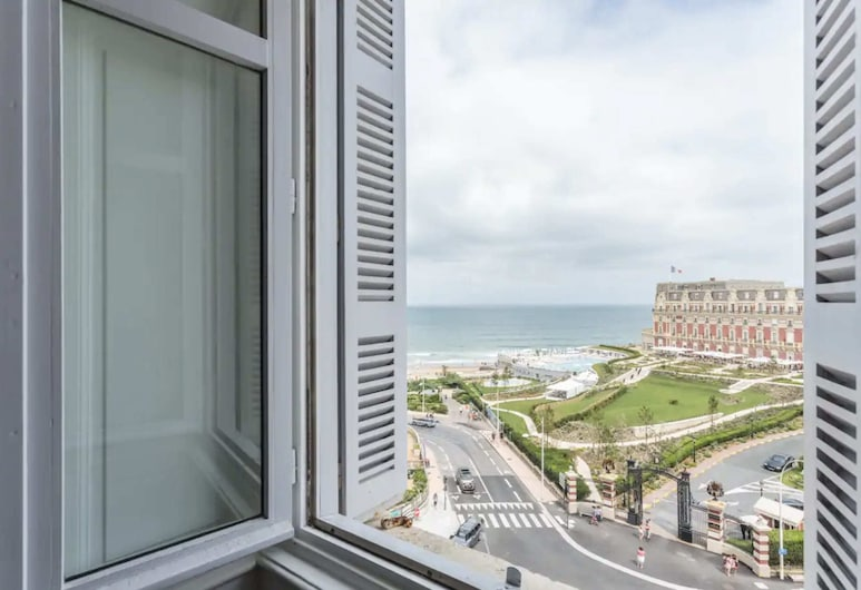 Guestready - Luxurious Apartment With View of The Grande Plage, Biarritz, Balkon