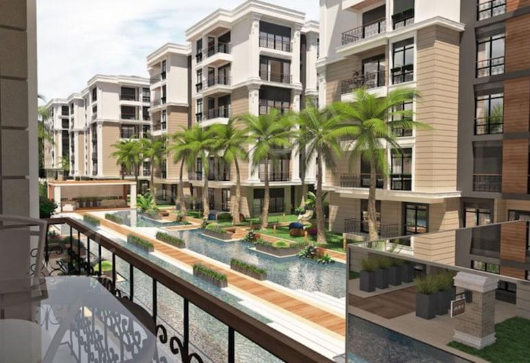 Entire Apartment - Magnificent 3BR Apt in Tuzla, Тузла, Апартаменты, Несколько кроватей, Балкон