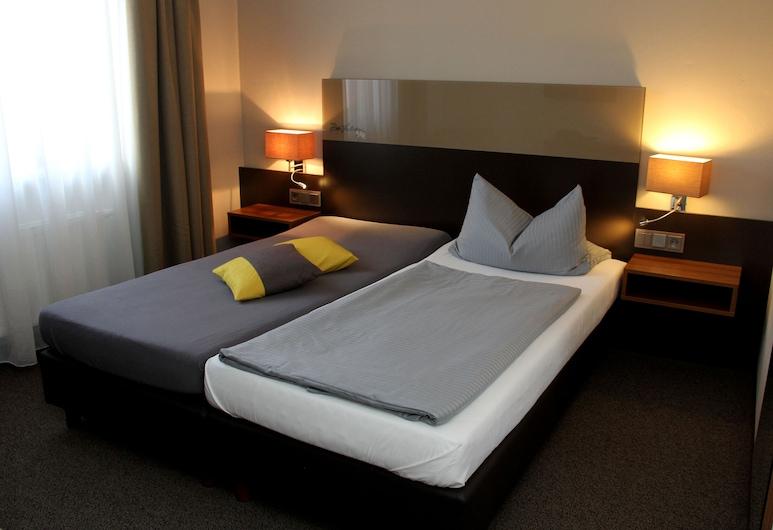 Hotel Drei Lilien, Vohenstrauss, Chambre Double ou avec lits jumeaux, Chambre