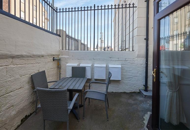 Apartment 1 At Khyber, Whitby, Lägenhet, Terrass