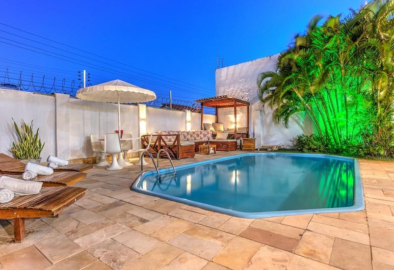 Casa 25pessoas c piscina Porto das Dunas, Aquiraz, Medence