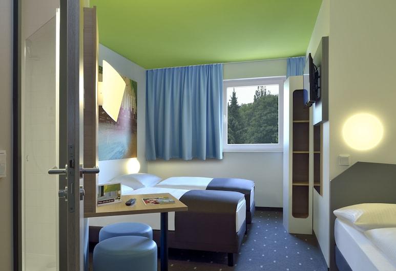 B&B Hotel Hamburg-Wandsbek, Hamborg, Værelse til 3 personer, Værelse