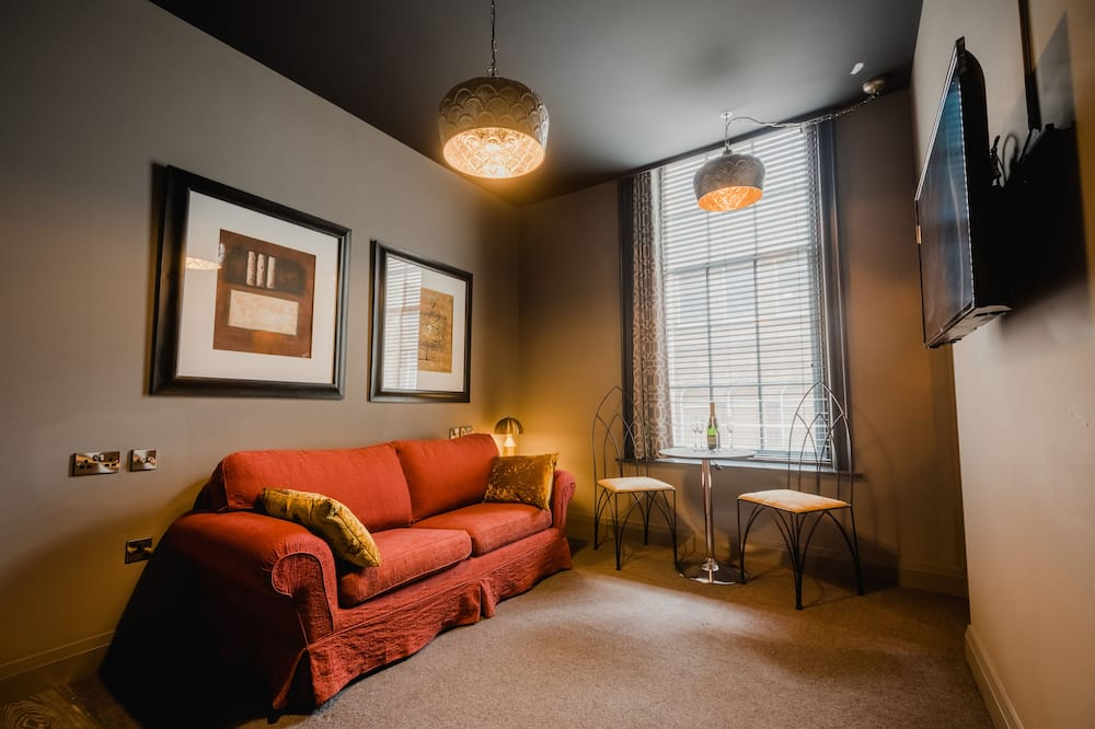 Apartmán typu Superior - Obývacie priestory