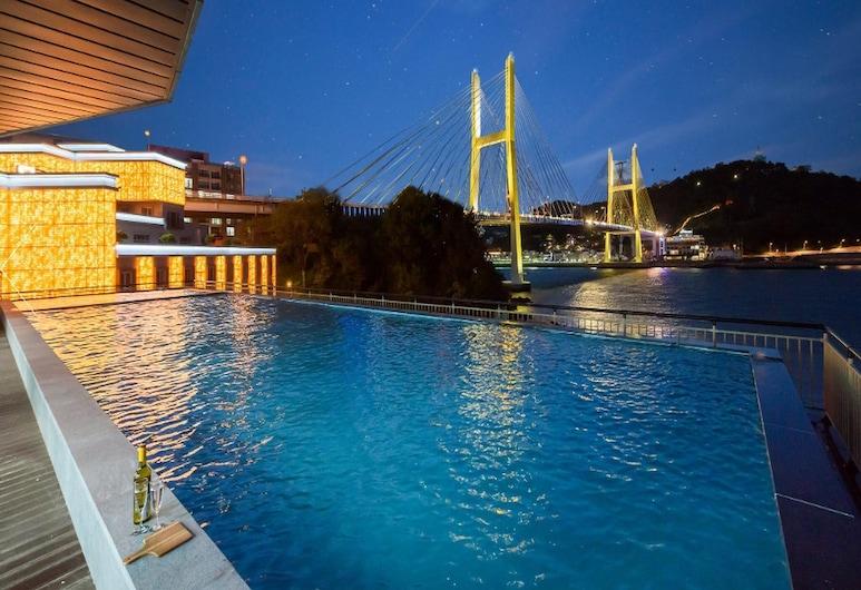 Yeosu Hotel Haven, Йосу, Вид из отеля