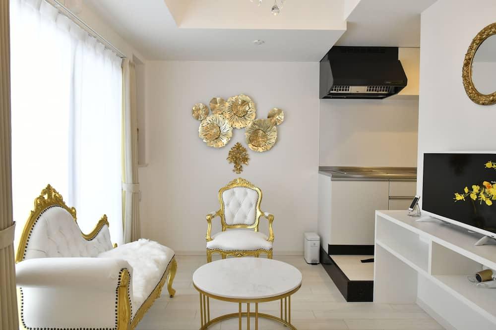 Apartmán, nefajčiarska izba (Corner Suite) - Stravovanie v izbe