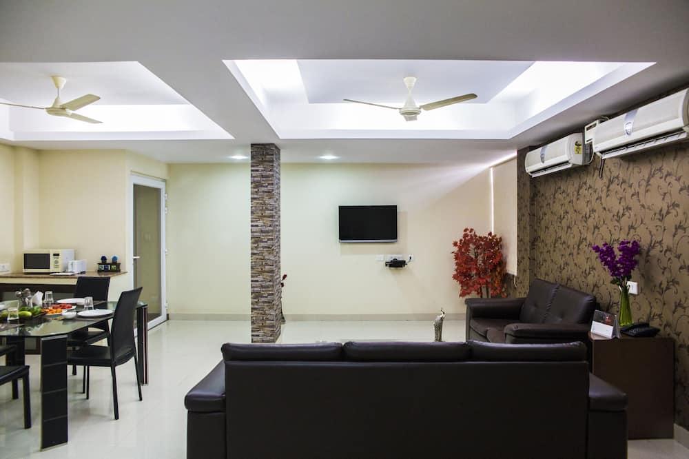 Kambarys verslo klientams, 1 miegamasis - Svetainės zona