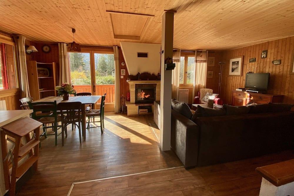 Osnovna planinska kuća - chalet, s kupaonicom, pogled na planinu - Salon