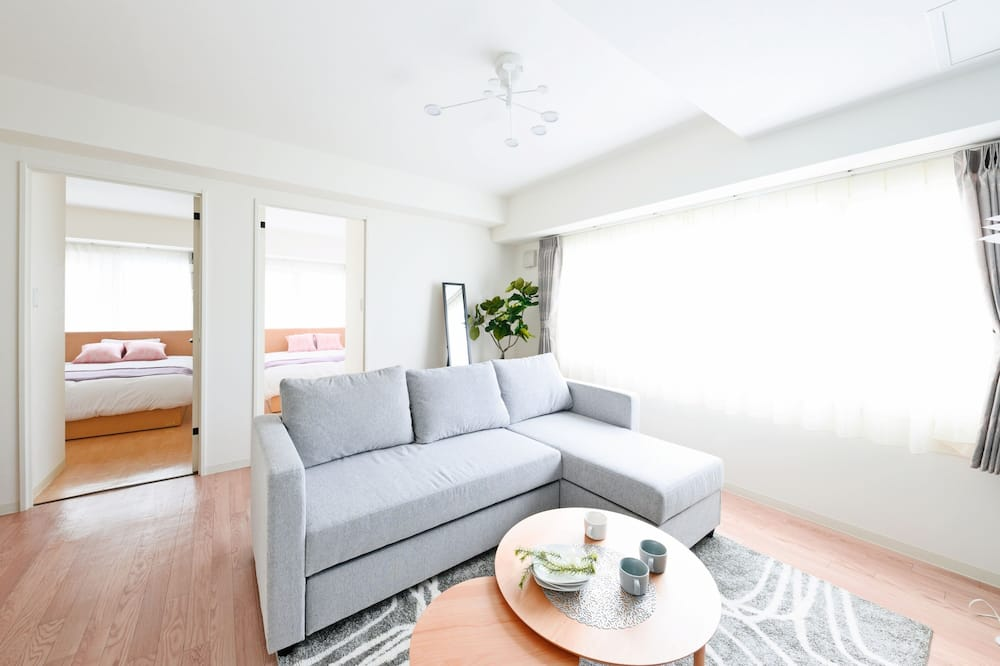豪華公寓, 非吸煙房 (with Parking, 701) - 客廳