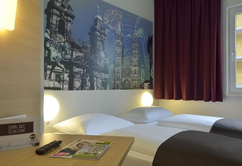 B&B Hotel Nürnberg-City, Nürnberg, Zweibettzimmer, Zimmer
