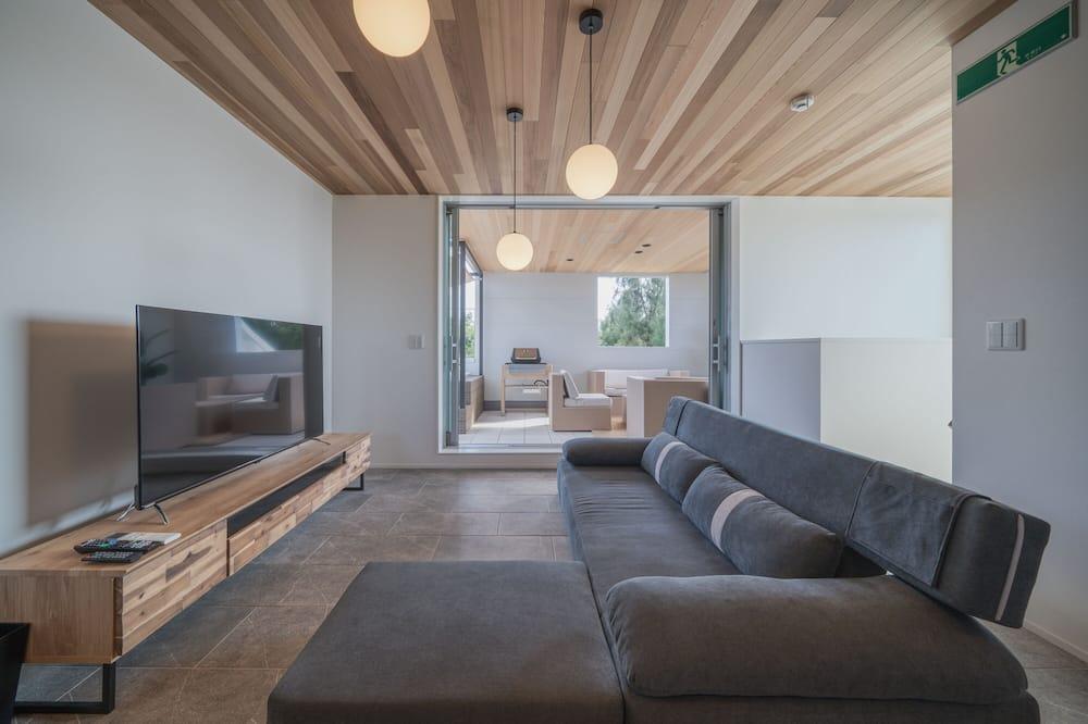 Biệt thự Cao cấp, Không hút thuốc (Private Vacation Home) - Phòng khách