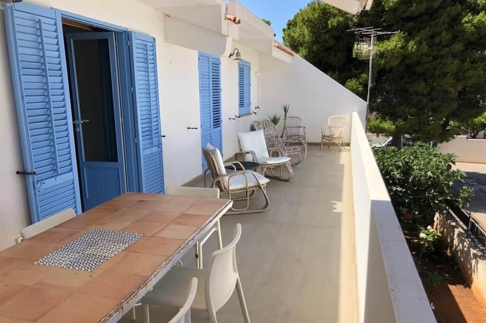 Vila, 3 spálne, terasa, výhľad na more - Balkón