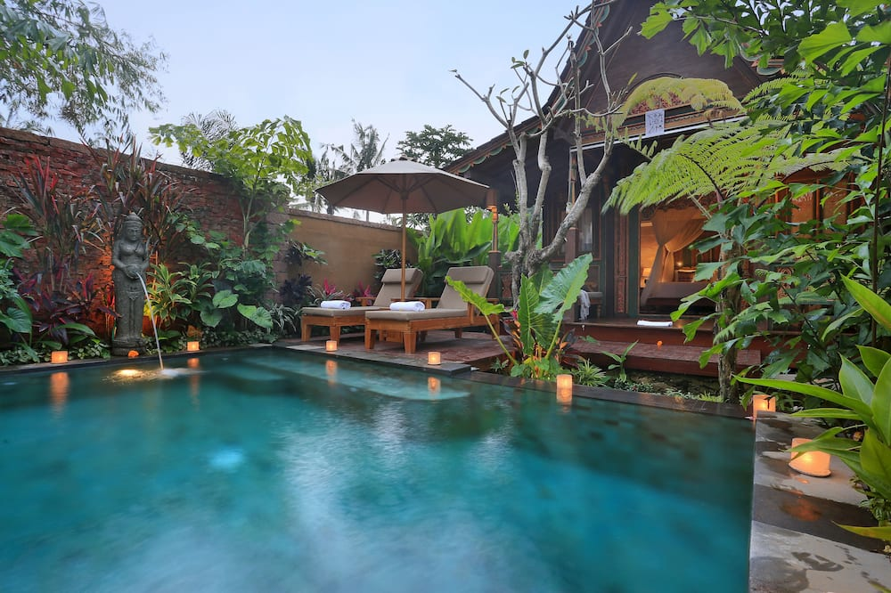 One Bedroom Wooden Private Pool Villa - Private pool