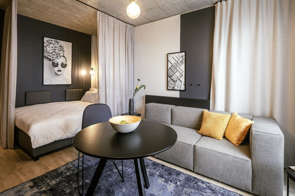 Basic Apartment - Wohnbereich