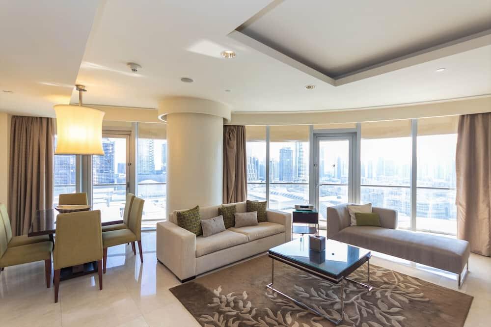 Apartman (2 Bedrooms) - Dnevni boravak