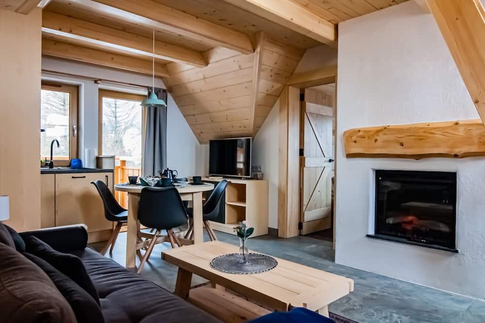 Family Apartment (mezzanine) - Living Area