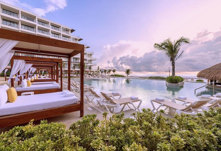 Sensira Resort & Spa Riviera Maya – All Inclusive, Пуэрто-Морелос, «Бескрайний» бассейн