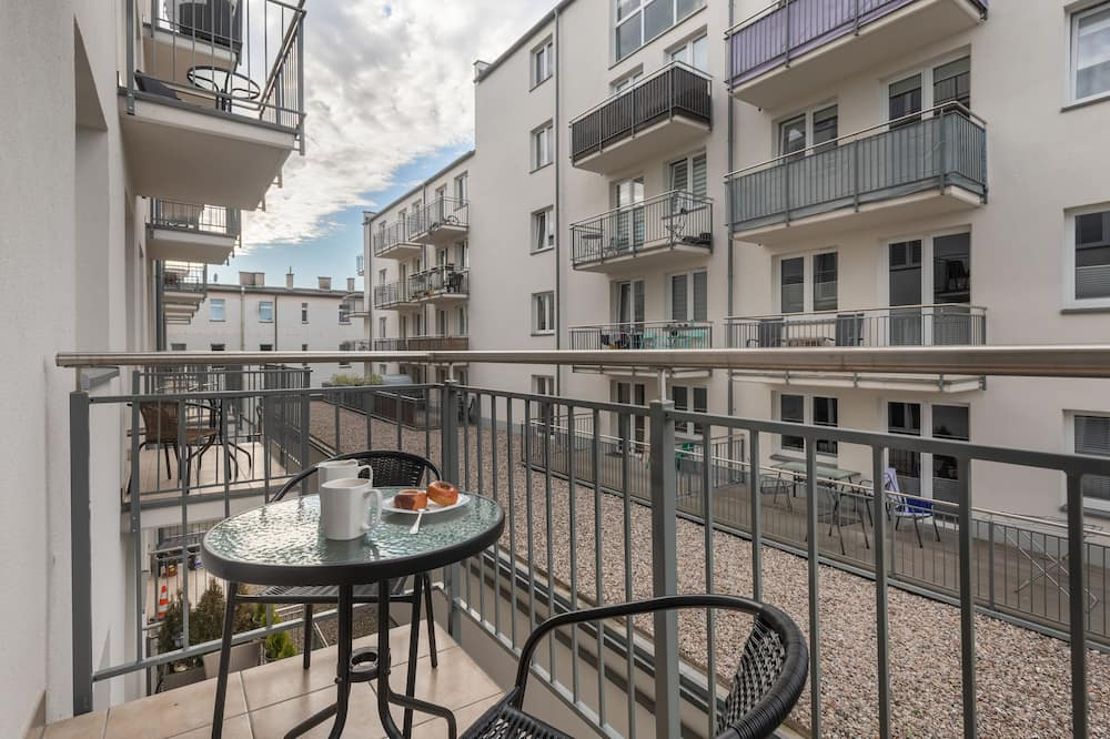 Apartment, 1 Bedroom, Balcony - Balcony