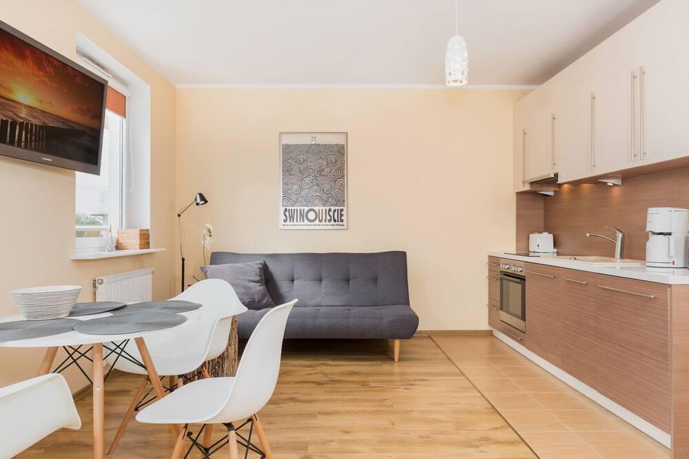 Studio, Balcony - Living Room