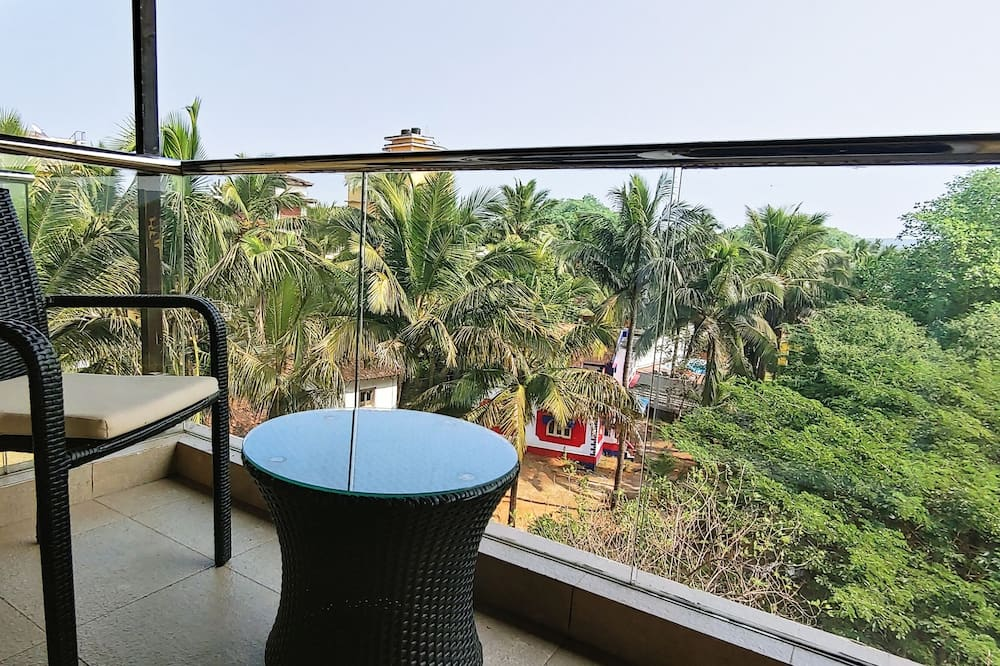 Superior-Doppelzimmer - Blick vom Balkon