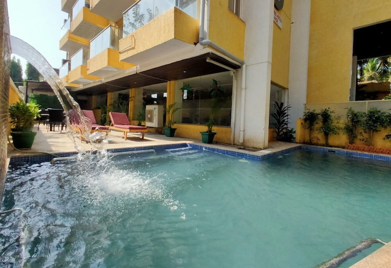 Zip by Spree Hotels Hyde , Candolim, Πισίνα