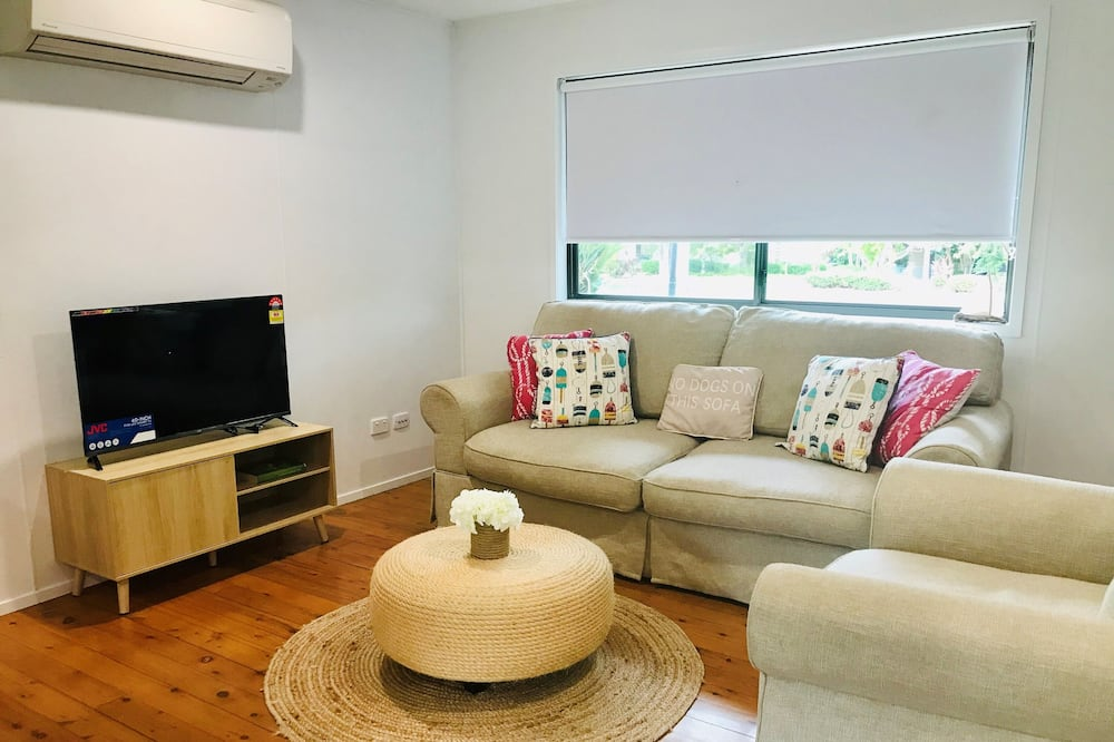Casa familiar (Coastal Cottage) - Sala de estar