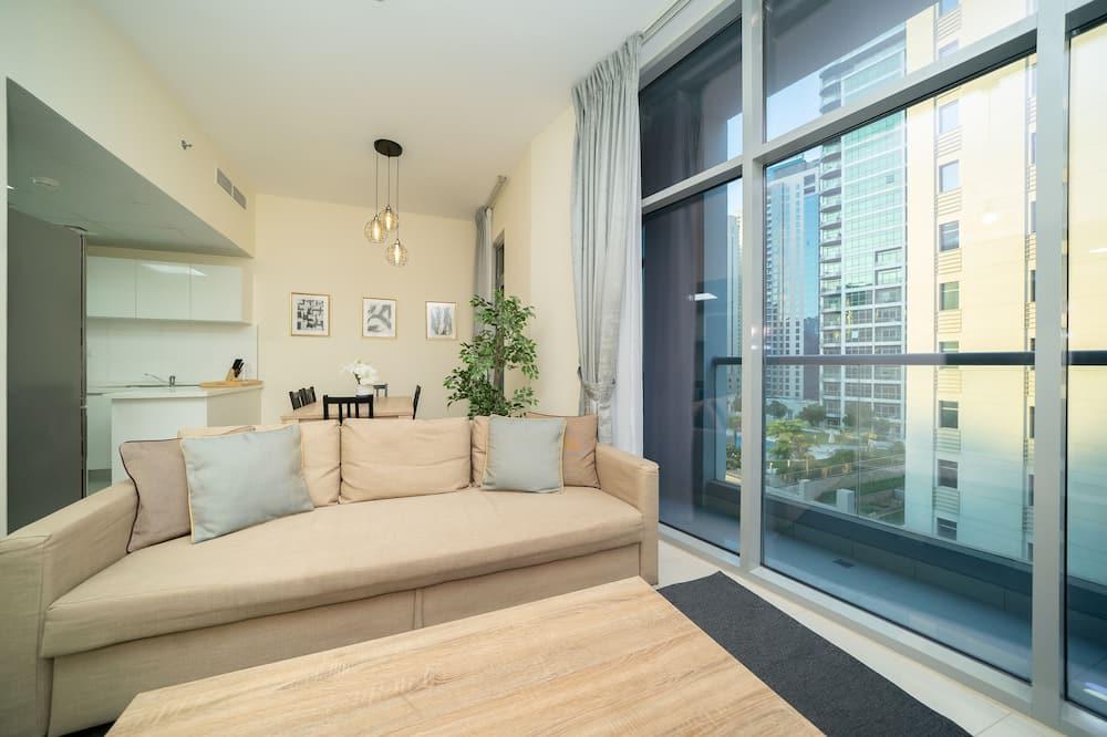 Deluxe Apart Daire, 3 Yatak Odası - Oturma Alanı