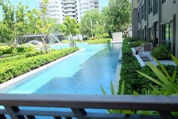 Foto del 20 Off Rain Chaam Huahin Pool View Hugh Swimming Pool en Cha-am