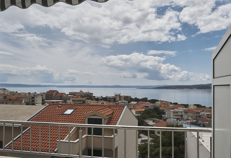 Apartment Studio With Sea View for 23 People, Μπάσκα Βόντα, Μπαλκόνι