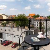 Apartament, 1 sypialnia, kuchnia - Balkon