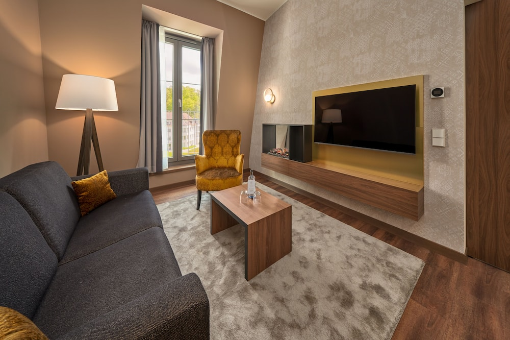 Master Suite - Зона гостиной