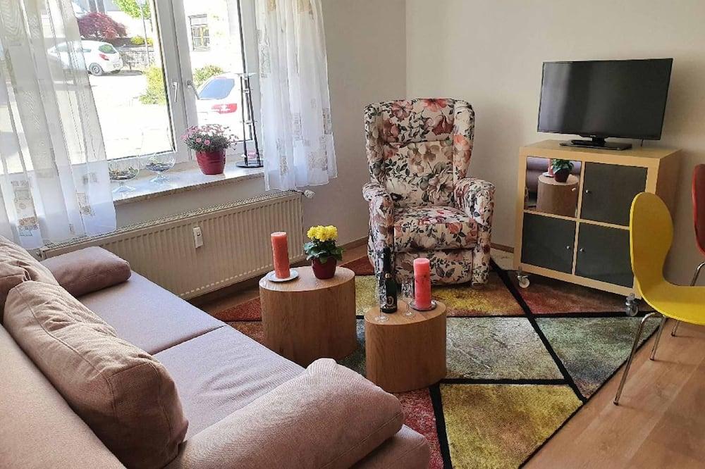 Apartment, Patio - Living Room