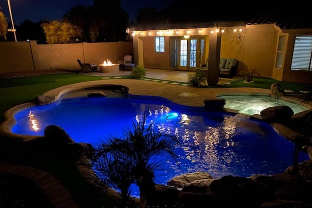 獨棟房屋 (4BR Peoria Home) - 游泳池