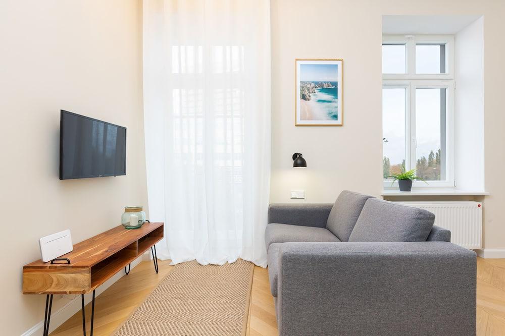 Departamento, 2 habitaciones, balcón - Sala de estar