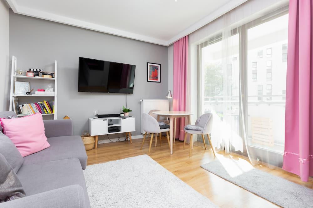 Διαμέρισμα, 1 Υπνοδωμάτιο, Μπαλκόνι - Περιοχή καθιστικού