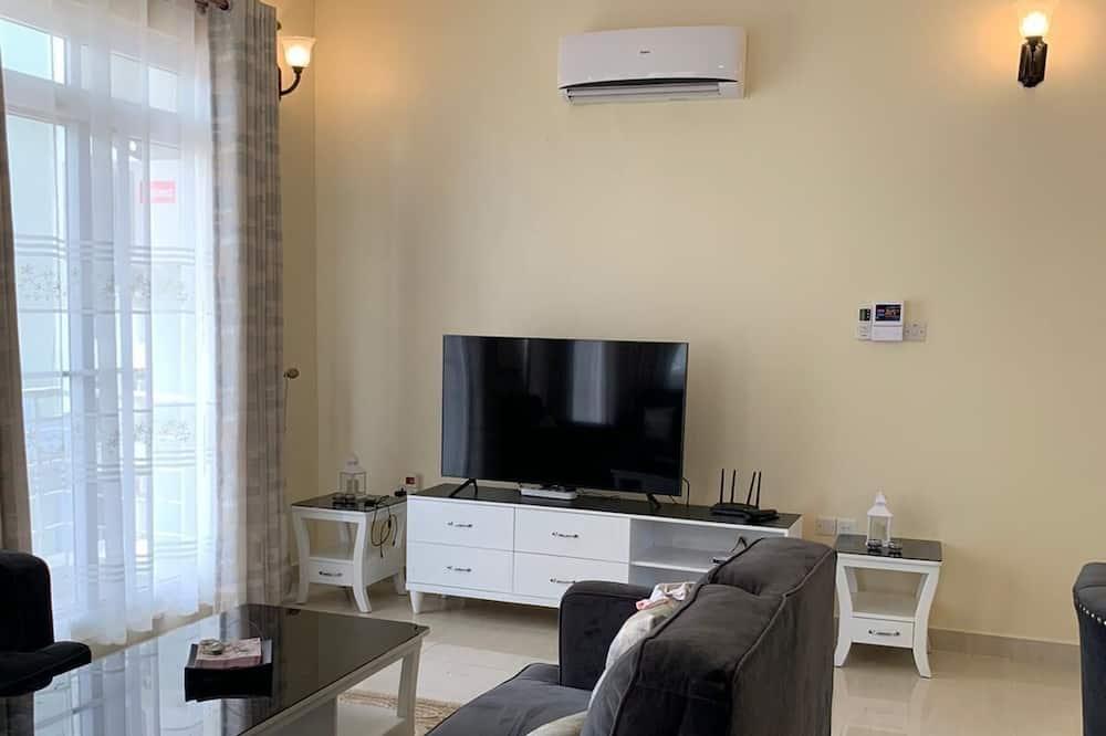 Apartamento Familiar, 3 Quartos - Área de Estar