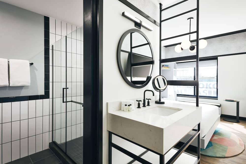 Izba typu Executive, 1 extra veľké dvojlôžko, nefajčiarska izba, výhľad - Kúpeľňa